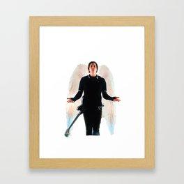 PKT (Painkiller Tom) - Blink 182/Angels and Airwaves: Tom Delonge Framed Art Print