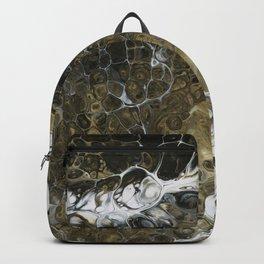 Team Splash, Black and Gold Backpack