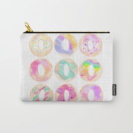 donut watercolor Carry-All Pouch