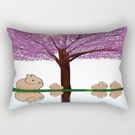 rabbit-205 Rectangular Pillow