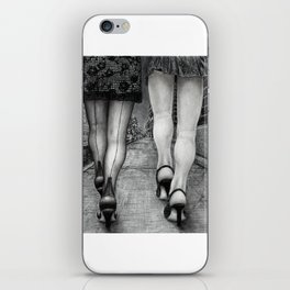 Untitled - Charcoal Drawing iPhone Skin
