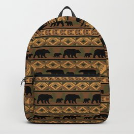 Black Bear and Cub Backpack