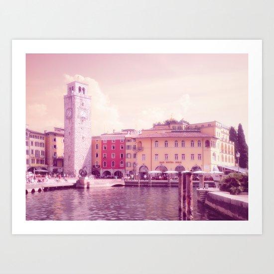 RIVA II - Lake Garda - Italy Art Print