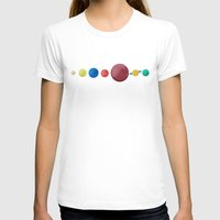 planets T-shirts featuring Happy Planets. by Caleb Boyles