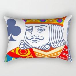 King of Clubs Rectangular Pillow