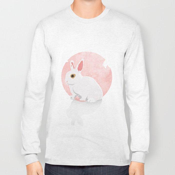The White Bunny Long Sleeve T-shirt