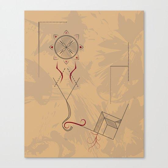 21st Century Hieroglyph Canvas Print