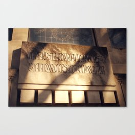 Forest Hill 3 Canvas Print