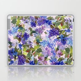 French Lavender Lilacs Laptop & iPad Skin