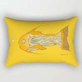Francis the Fish Rectangular Pillow