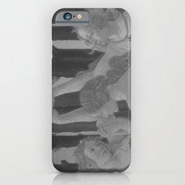 Black White Primavera iPhone Case