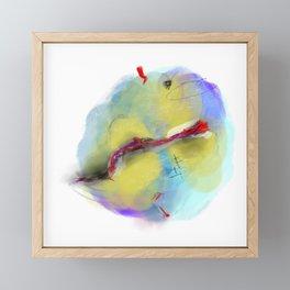 unsettled Framed Mini Art Print