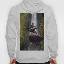 Stone Carin, Oneonta Falls, Oneonta Gorge, Oregon Hoody