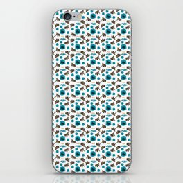 Cenozoic Extinction Event Pattern iPhone Skin