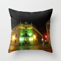 merida Throw Pillows featuring Merida University by Annaelle