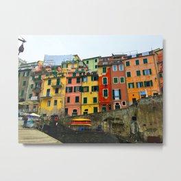 Cinque Terre - Riomaggiore Metal Print