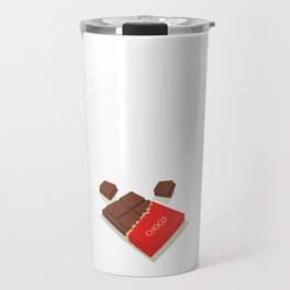 I Could Give Up Chocolate But I'm Not a Quitter T-Shirt Travel Mug
