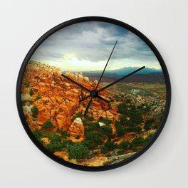 Fiery Furnace Overlook Wall Clock