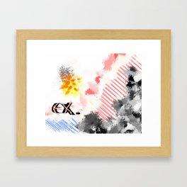 Ex. Framed Art Print