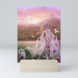 Light Sorceress Mini Art Print