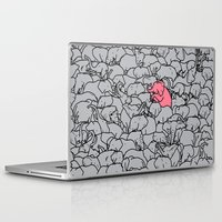 word Laptop & iPad Skins featuring Word 2 the Herd v1 by Jonah Makes Artstuff
