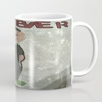 goth Mugs featuring Goth Boy  by Drake Darklight