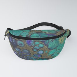 Golden Space Fanny Pack