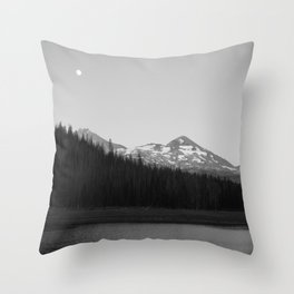 Hiking to Hand Lake in the Willamette National Forest Throw Pillow