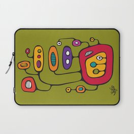 Broadcast in Full Color Laptop Sleeve