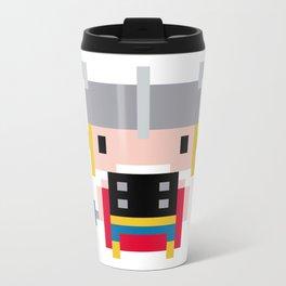 Pixel Thor Metal Travel Mug