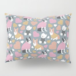 Dogs in Sweaters Pillow Sham