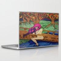 watch Laptop & iPad Skins featuring watch by Alyxka Pro