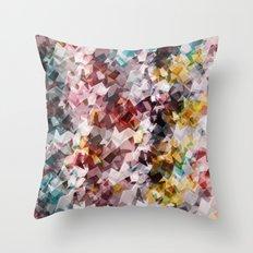 Magic gems Throw Pillow