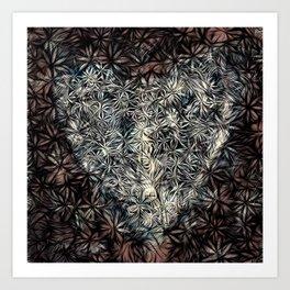 grieving heart no. 3 Art Print