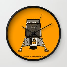 7 inch series: Pixies - Space (I believe in) / Motorway to Roswell Wall Clock