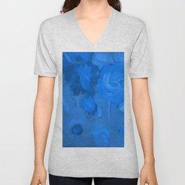 Blue Garden Unisex V-Neck