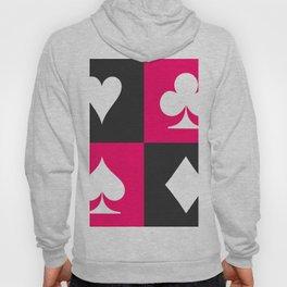 I love gambling. Playing card set. Hoody