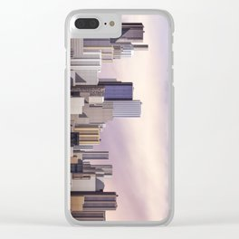 Day city panorama Clear iPhone Case