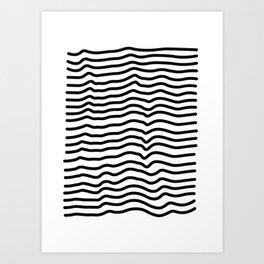 topographically Art Print