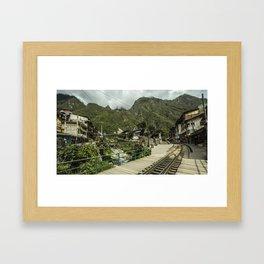 AGUASCALIENTES Framed Art Print