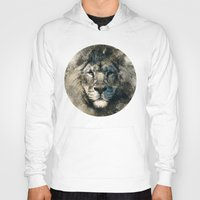 camouflage Hoodies featuring LION CAMOUFLAGE by RIZA PEKER