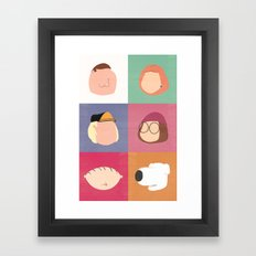 Family Guy Framed Art Print
