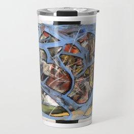 Cerebellum Overload (oil on canvas) Travel Mug