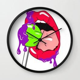 How Many Licks? Wall Clock
