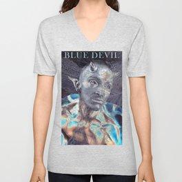 BLUE DEVIL Unisex V-Neck