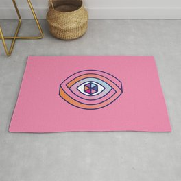 The eye of multiple perspectives Rug