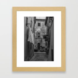 Doorway Framed Art Print