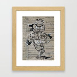 All About the U Framed Art Print