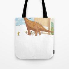 Book Dinossaur Tote Bag