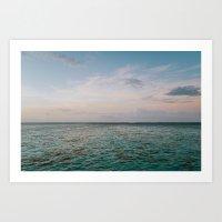 Waterscape #1 Art Print